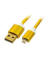 Cable Recarga de aluminio USB-Micro USB