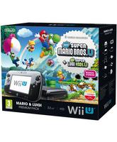 Nintendo Wii U + Super Mario Bros U + Super Luigi U